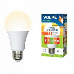 Лампа светодиодная 10766 E27 12Вт 175-250В 3000 K груша круглая матовая
