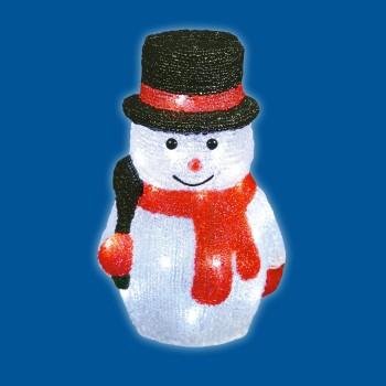 Снеговик световой (27 см) ULD 11034