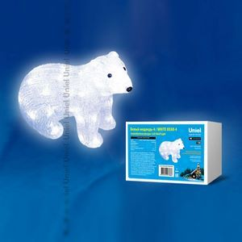 Зверь световой Белый медведь (25 см) ULD 11037