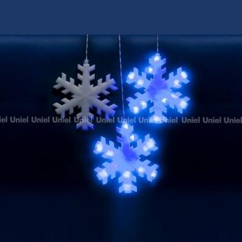 Занавес световой (2,7x3 м) Снежинки 11128
