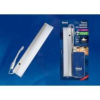 Накладной светильники Uniel Silver ULI-F41-5,5W/4200K/DIM SENSOR IP20 SILVER