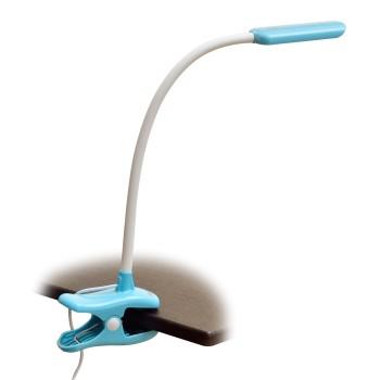 Настольная лампа офисная Uniel TLD-554 TLD-554 Blue/LED/400Lm/5500K/Dimmer