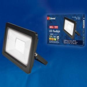 Настенный прожектор Uniel ULF-F19 ULF-F19-50W/4000K IP65 175-250В BLACK
