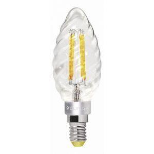 Лампа светодиодная E14 220В 4Вт 2800K Loft VG1-CC1E14warm4W-F