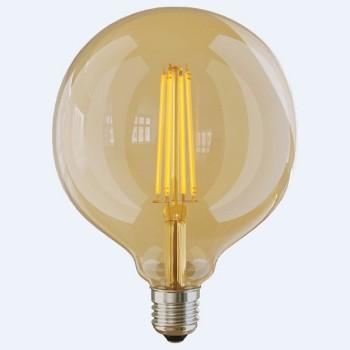 Лампа светодиодная E27 220В 8Вт 2800K Loft led VG10-G125Gwarm8W