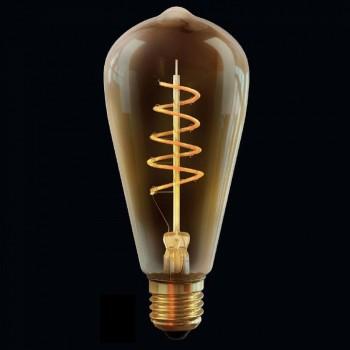 Лампа светодиодная Voltega ST64 Е27 Вт 2000K VG10-ST64GE27warm4W-FB