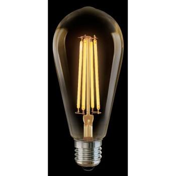 Лампа светодиодная Loft Led E27 220В 6Вт 2800K