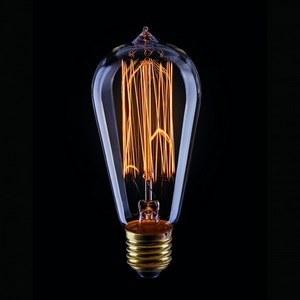 Лампа накаливания Voltega Loft E27 60Вт 2200K 5917