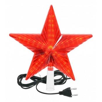 Верхушка на елку световая (20х20 см) Звезда 55086