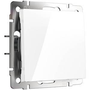 Выключатель проходной одноклавишный без рамки Werkel Белый WL01-SW-1G-2W