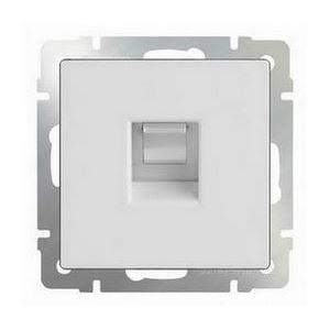 Розетка Ethernet RJ-45 без рамки Werkel Белый WL01-RJ-45