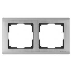 Рамка на 2 поста Werkel Metallic WL02-Frame-02