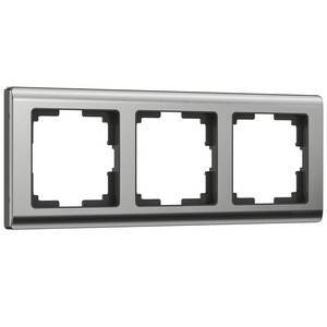 Рамка на 3 поста Werkel Metallic WL02-Frame-03