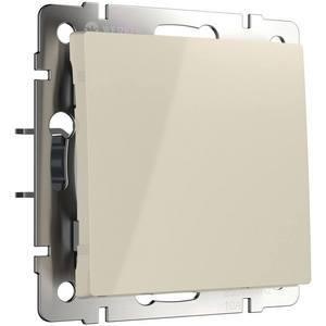 Выключатель одноклавишный без рамки Werkel Слоновая кость WL03-SW-1G-ivory