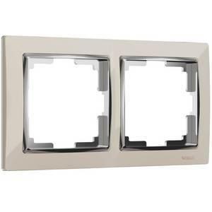 Рамка на 2 поста Werkel Snabb WL03-Frame-02-ivory
