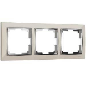 Рамка на 3 поста Werkel Snabb WL03-Frame-03-ivory