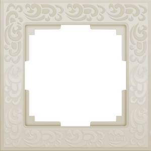 Рамка на 1 пост Flock WL05-Frame-01-ivory