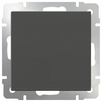 Выключатель одноклавишный без рамки Werkel Серо-коричневый WL07-SW-1G