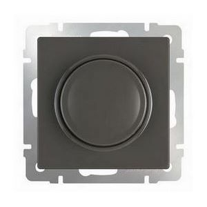 Диммера без рамки Werkel Серо-коричневый WL07-DM600