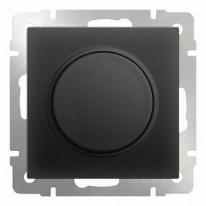 Диммера без рамки Werkel Черный матовый WL08-DM600