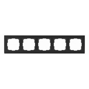 Рамка на 5 постов Werkel Stark WL04-Frame-05 - черный