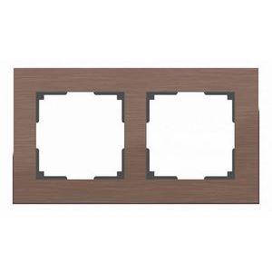 Рамка на 2 поста Werkel Aluminium WL11-Frame-02