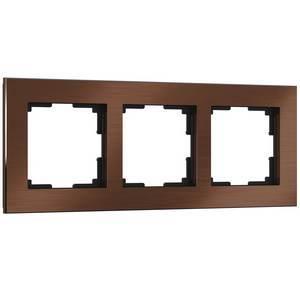 Рамка на 3 поста Werkel Aluminium WL11-Frame-03