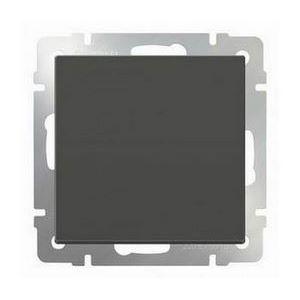 Выключатель перекрестной одноклавишный без рамки Werkel Серо-коричневый WL07-SW-1G-C