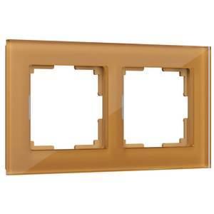 Рамка на 2 поста Werkel Favorit WL01-Frame-02