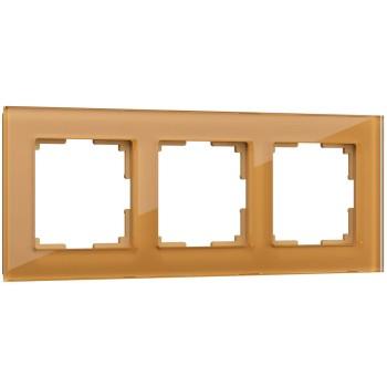 Рамка на 3 поста Werkel Favorit WL01-Frame-03