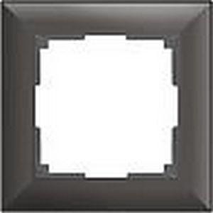 Рамка на 1 пост коричневая a038866