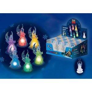 Набор из 12 Ангелов световых (9 см) ULD-F602 RGB ANGEL SET12