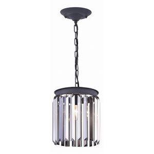 Подвесной светильник Divinare Nova коньячный цвет 3002/05 SP-1